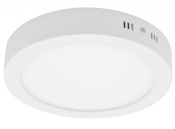 LED okrugla nadgradna panel svetiljka 18W 3000K dnevno svetlo LNP-O-18/WW 35x222 mm