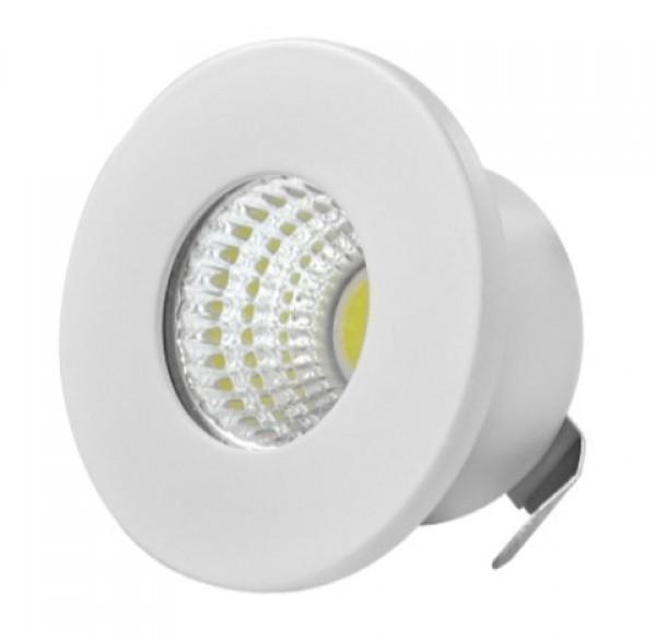 LED Ugradna lampa 3W 6000K dnevno svetlo 22x40mm LUG-303-5/W