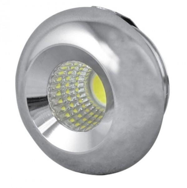 LED Ugradna lampa 3W 6000K dnevno svetlo 33x45mm LUG-3320/CH-3/W