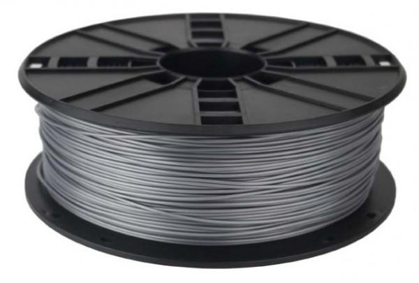 3DP-PLA1.75-01-S PLA Filament za 3D stampac 1,75mm kotur 1KG SILVER Srebrna