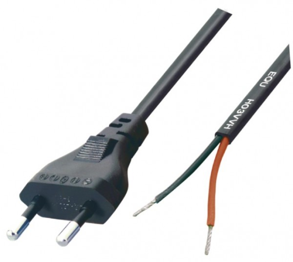 Strujni kabl N2/VDE 1,5m 2x0,75mm