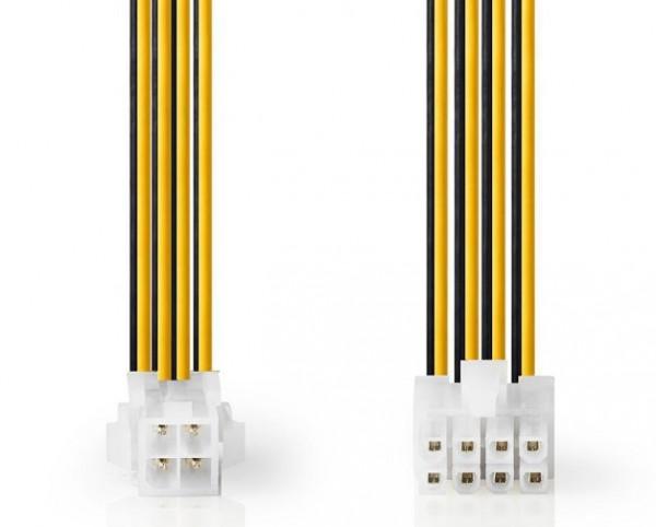 CCGP74410VA015 CPU Power EPS 8-pina na P4 zenski, 15cm
