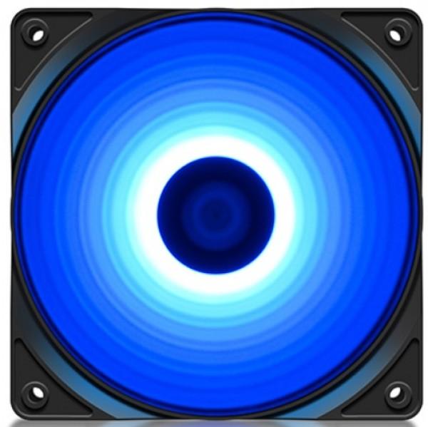 DeepCool RF120B 120x120x25mm ventilator BLUE LED hydro bearing 1300rpm 49CFM 22dBa