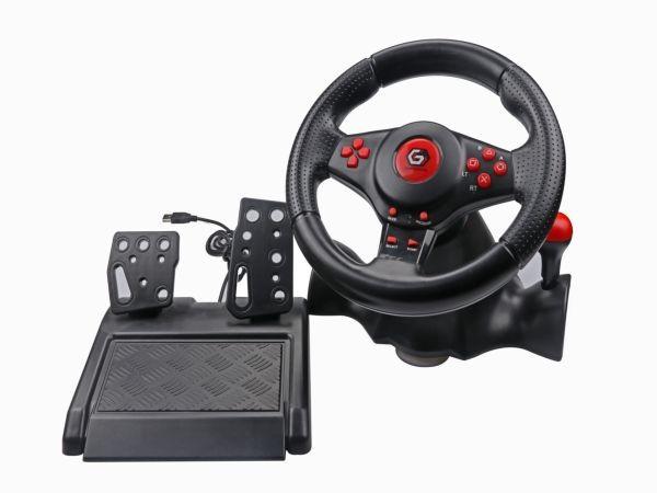 STR-SHOCKFORCE-4in1 Gembird volan za PS4, PS3, Switch, PC