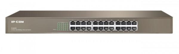 IP-COM F1024 LAN 24-Port 10/100M Base-T Ethernet ports Desktop or rack mount switch (alt=TEF1024D)