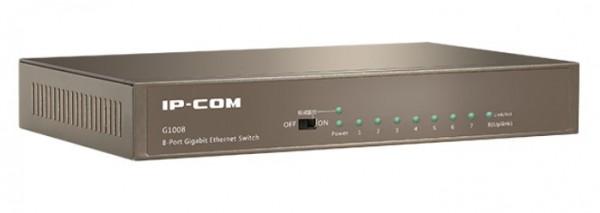 IP-COM G1008 LAN 8-Port 10/100/1000M Switch Ethernet ports (Auto MDI/MDIX) (alt=TEG1008D)