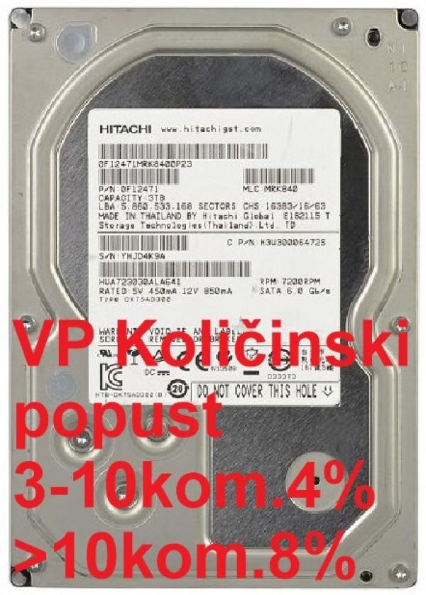 HDD 3.5'' ** 3TB HUA723030ALA641 HITACHI 7200RPM 64MB SATA3 RFB Chia