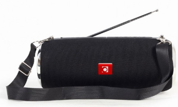 SPK-BT-17 Gembird Portable Bluetooth speaker +handsfree 2x5W, FM, USB, SD, AUX + antena black