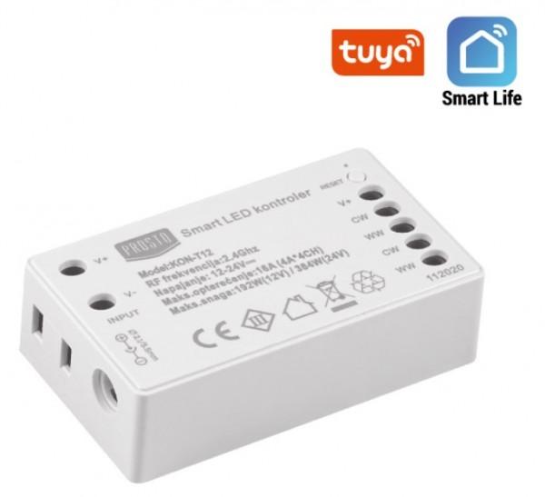 Wi-Fi smart LED kontroler CCT 192W KON-T12
