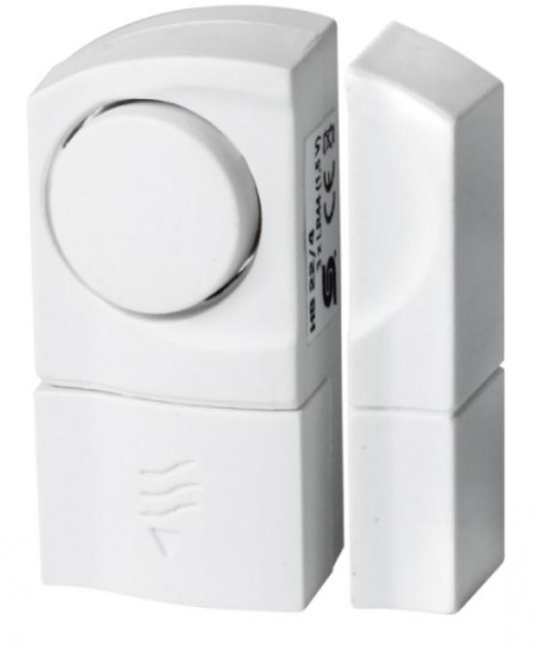 Alarm otvaranja 2 kom HS22/2 Signalizira ulazak kroz prozor ili vrata gde je postavljen