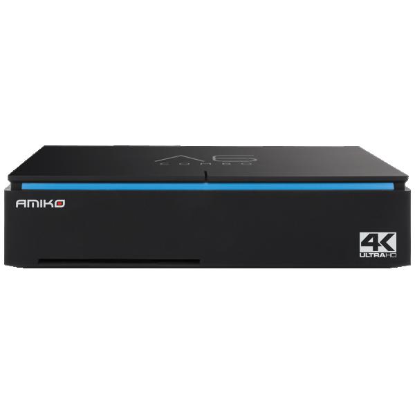 DVB Amiko A6 Combo prijemnik DVB-T2/S2/C Cortex A53, 2GB DDR3