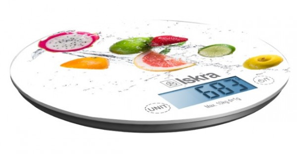 Kuhinjska digitalna vaga Iskra GKS1560-FR Max. 10kg, tacnost 1g, 190mm