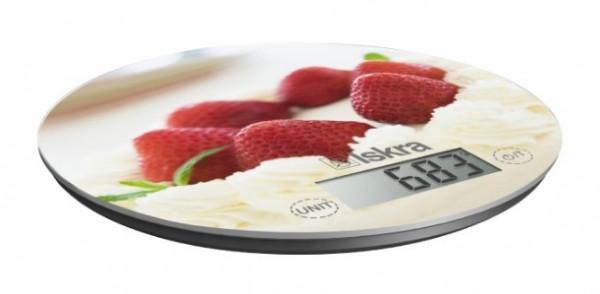 Kuhinjska digitalna vaga ISKRA GKS1560-SB Max.10kg, tacnost 1g, 190mm