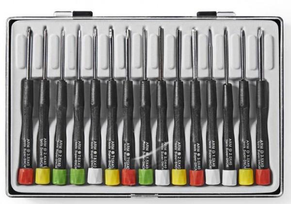 SDAS110VA Precizni set odvijaca 3x PH / 4x Flat / 4x Hex / 4x Tx (15kom)