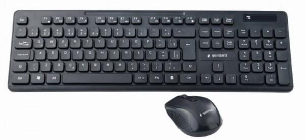 KBS-WCH-03 Gembird tastatura US + bezicni mis USB, US layout