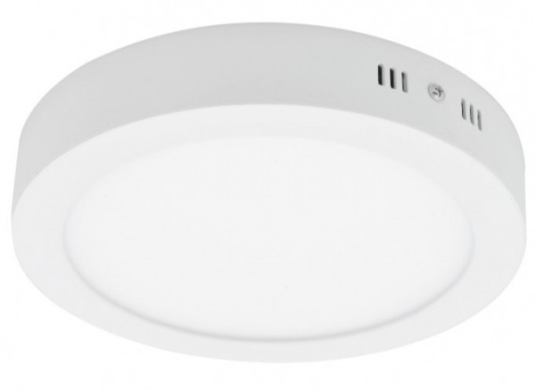 LED okrugla nadgradna panel svetiljka 12W 6500K dnevno svetlo 120mm LNP-O-12/W-B 35x175 mm