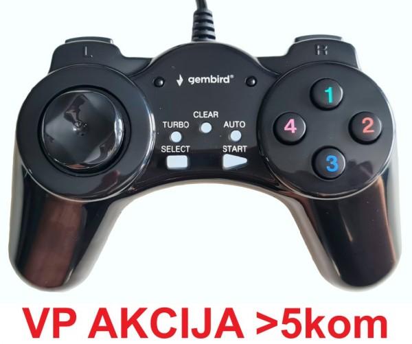 JPD-DIGITALPAD ** Gembird USB 2.0 digital gamepad black  (Alt;JPD-UB-01, 207)