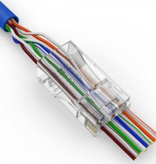 LC-PTF-01/100CAT5 LAN UTP kategorije 5 EZ KONEKTOR PNP88FZv2-R RJ45 (100 komada pakovanje)