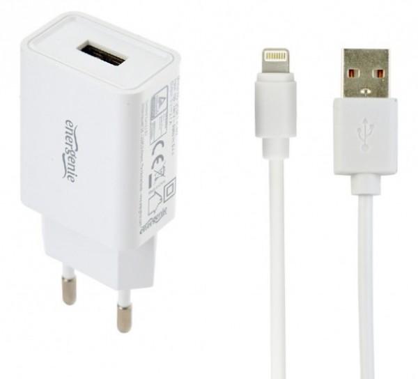 EG-UCSET-8P-MX BELI Gembird punjac za telefone i tablete iPhone/iPad 5V/2.1A USB +8-pin USB kabl 1M