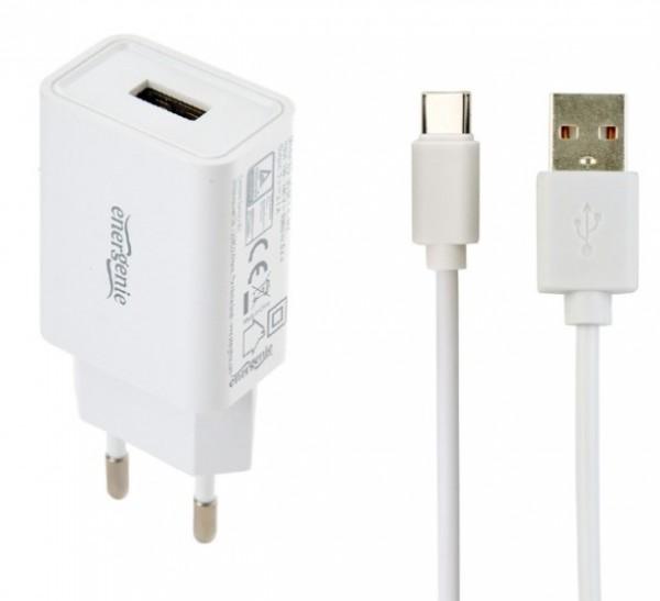 EG-UCSET-C-MX BELI Gembird punjac za telefone i tablete 5V/2.1A USB Type-C USB kabl 1M