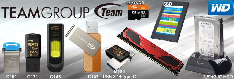 TeamGroup + HDD 2020